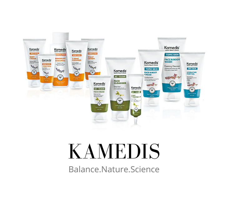 Skincare Kamedis Balance Nature Science